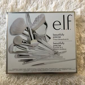 Elf 9 piece makeup brush set